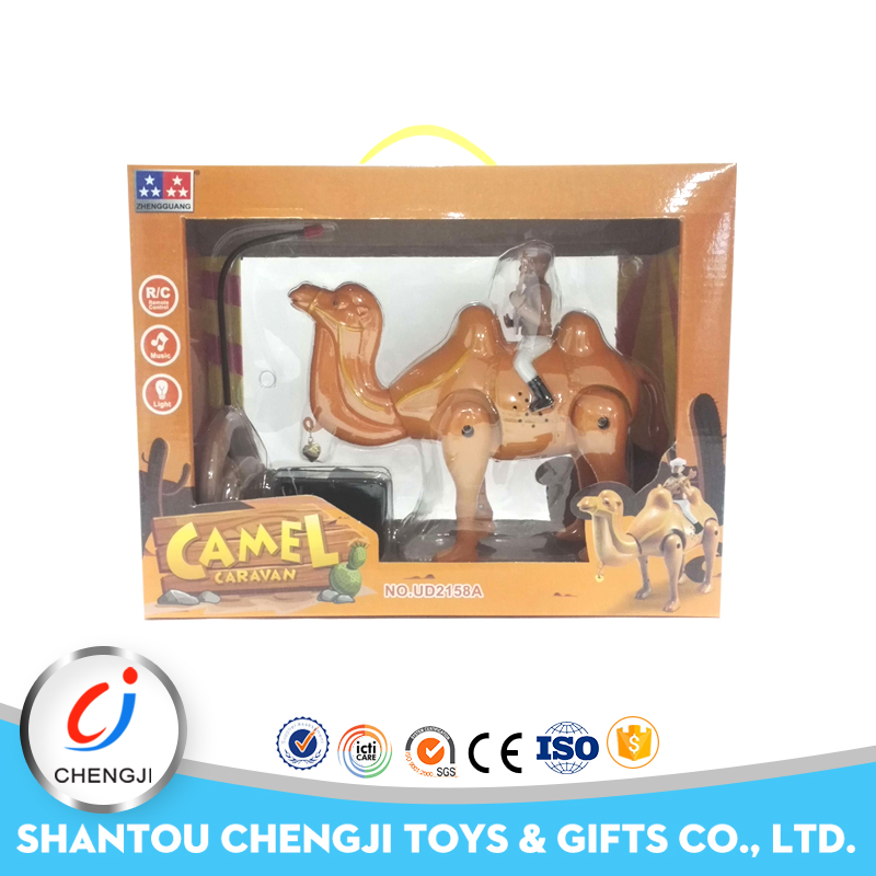 High quality factory promotional remote control plastic camel toy for sale