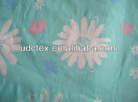 100% Cotton poplin with flower printing for sale