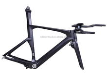 Professional Time Trial Bicycle Frame, Carbon TT Bike Size 50/52/54/56cm
