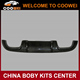 Top Quality C-Class W203 Carbon Fiber Rear Bumper Diffuser For Mercedes W203
