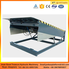 Fixed remote control loading stationary dock steel car leveler