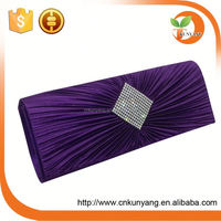 factory hot sell factory hot sell coloured glass stones mix shell office ladies evening bags