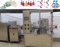 Shanghai SG automatic glass bottles nail polish filling machine for 5-25ml small bottles