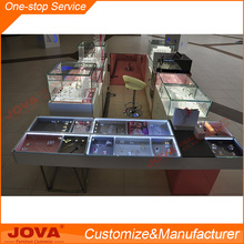 Mall sale jewelery display cabinets and jewelry display set of jewellery kiosk