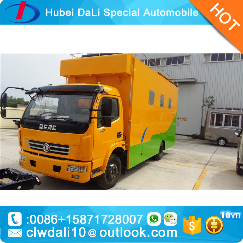 new sale Popular Multi-function Mini Food Truck / Fast Food Cart / street food Vending Van