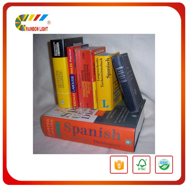 Excellent quality advertising supplier paper board full colors dictionary urdu to english words