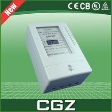 cgz White Color high precision prepaid electric energy meter price 240V
