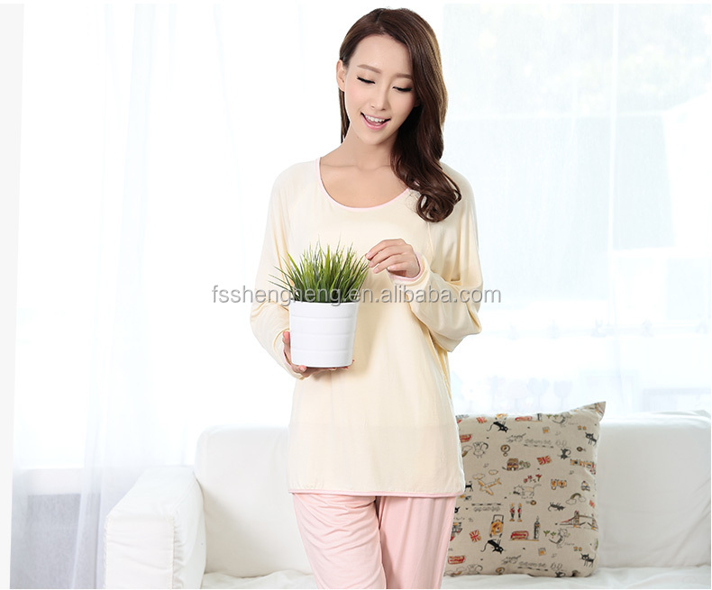 OEM spring cotton Chinese women new sexy nighty design