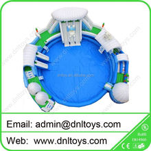 PVC Inflatable slide,tph inflatable water game pool park