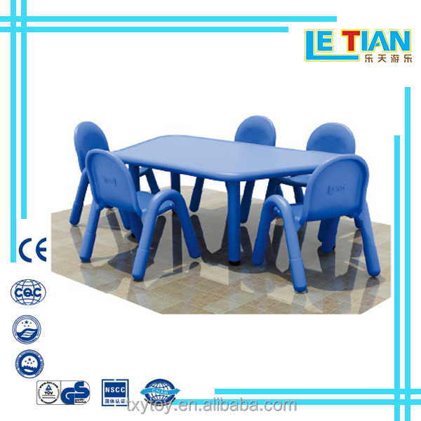 kids plastic dining table Kids infant furniture