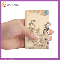 Wholesale New Fashion Business USB Power Bank for Mobiles With Cheap Price
