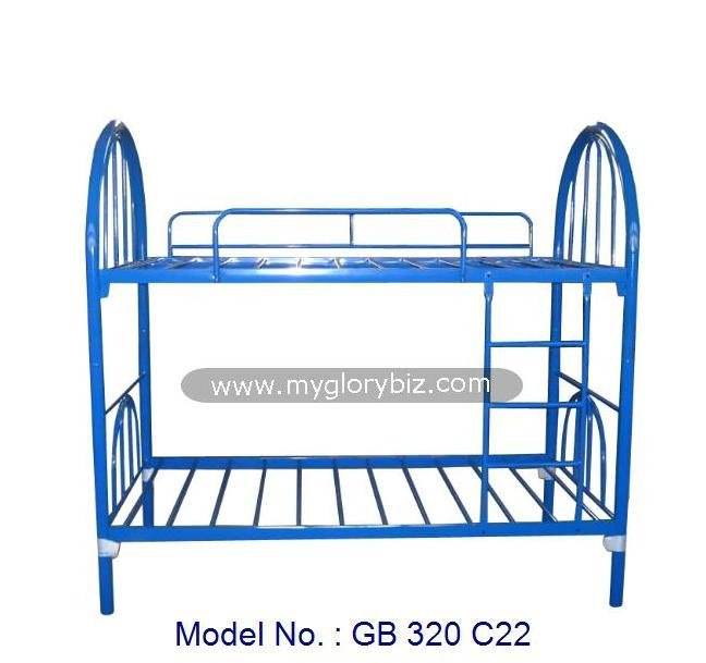 Detachable Metal Bunk Bed With Simple Basic Designs Home Cheap Bedroom Furniture