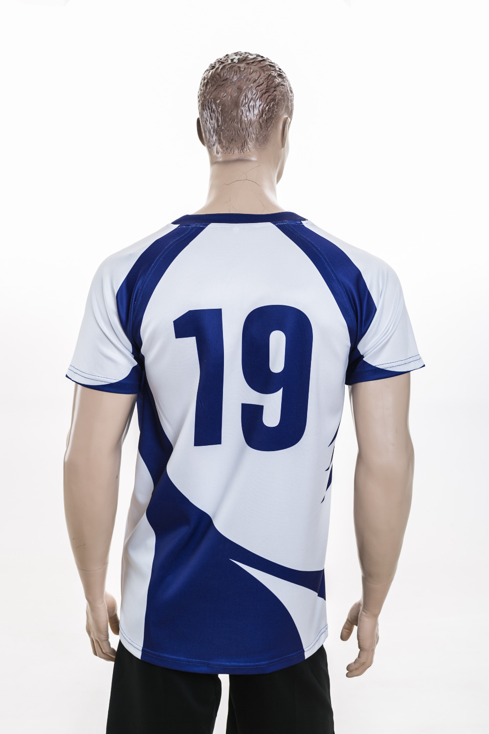 2015 New dye sublimation 100% polyester rugby jersey for sale
