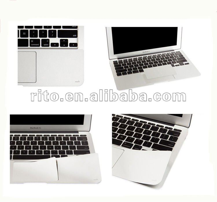 "Metallic Grey Color New Palm Protector Skin Guard Cover Touch pad for 15"" MacBook Pro"