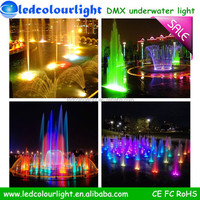 100% Water proof boats hot Sellingled underwater lights for fountains