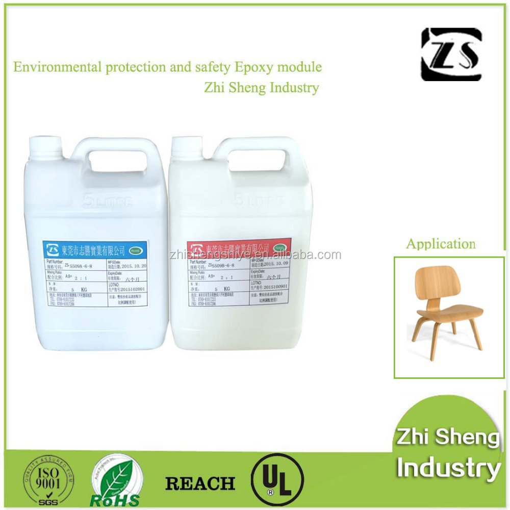 Transparent epoxy resin and hardener (direct factory)