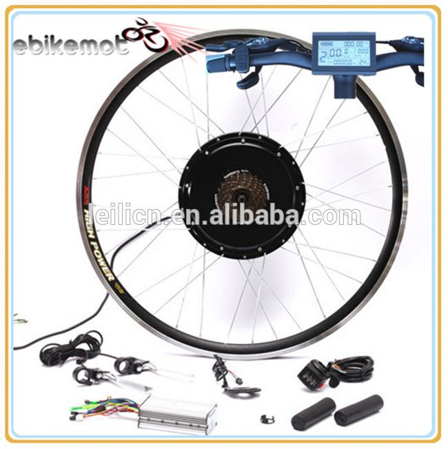 diy china e-bike kit front rear and middle used 1000w electric bicycle hub motor