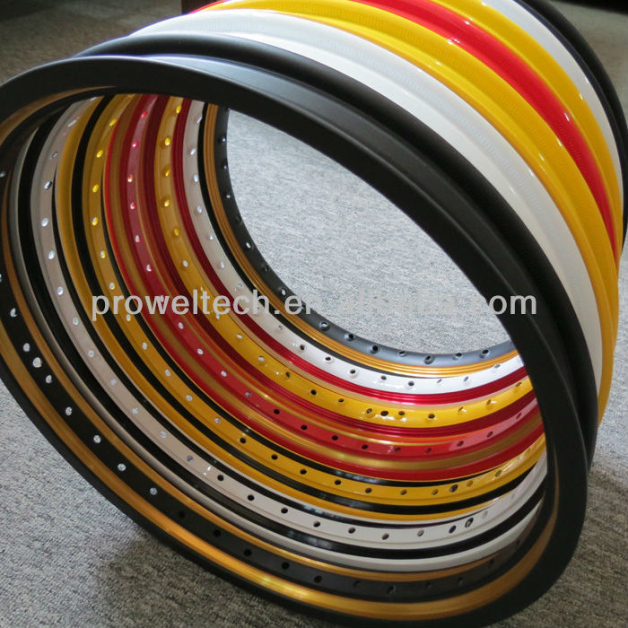 2013 Double Colors U 1.20-1.60X17 Motorcycle wheels for Southeast Asia market