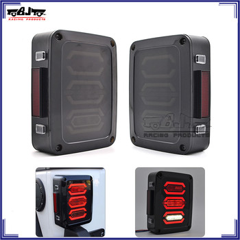 BJ-TL-04 US12V LED Tail Lamp Turn Signal Running Brake Reverse Taillight for Jeep Wrangler JK