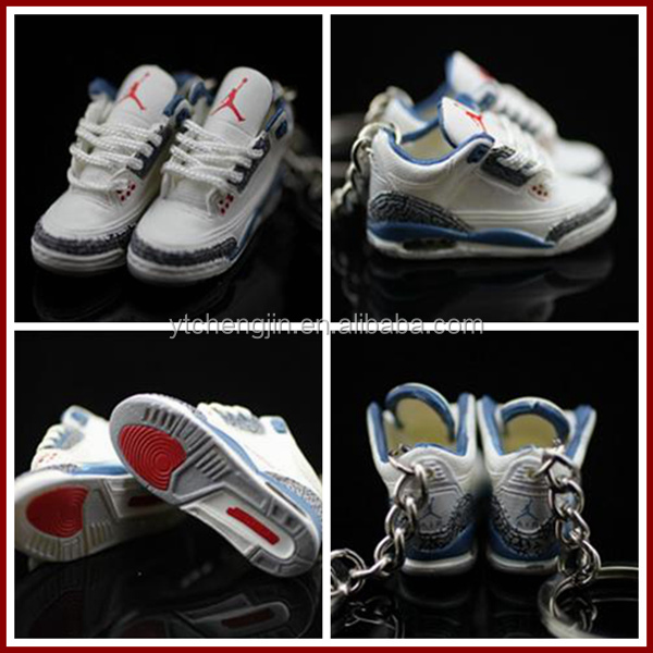 3D jordan keychain all models assorted