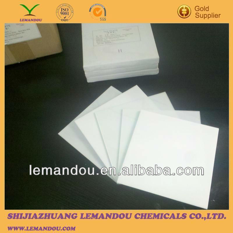 applied thin-layer chromatography / silica gel plate/ TLC plate