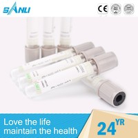 health products disposable medical blood collectible glucose tube / medical tourniquet