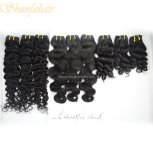 black star micro braid weft hair,body wave brazilian hair weft,good thick hair weft