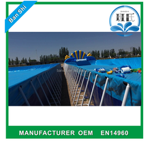 Commercial folding swimming pool, large inflatable swimming pool