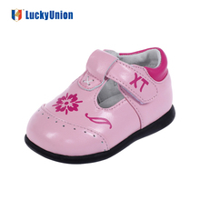 European Trendy Infant Leather Casual Shoes For Baby Girls