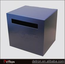 Customized donation carton boxes display stand