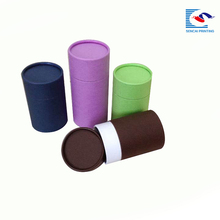 sencai wholesale round tube custom christmas paper box cylinder