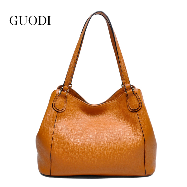 elegance women geunine leather tote bags