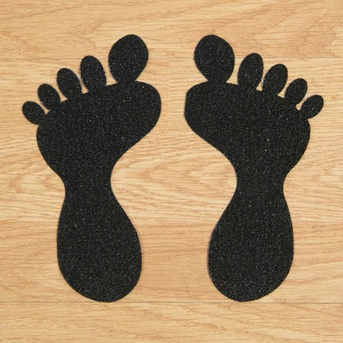 Low price custom promotion waterproof floor footprint print stickers for boots