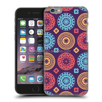 FLORAL ORNAMENT CIRCLE PATTERNS Custom Design Cell Phone Case