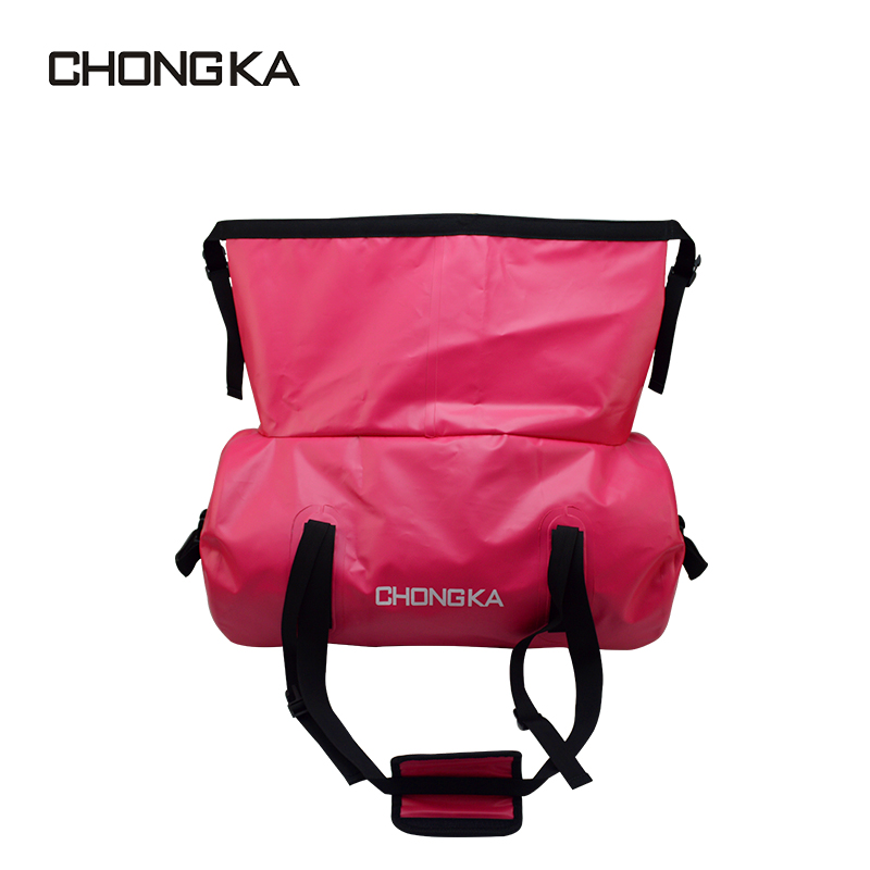 500D PVC tarpaulin outdoor waterproof travel duffel bag