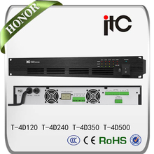 ITC T-4D Series New Arrival 4 Channel Class D Digital Amplifier