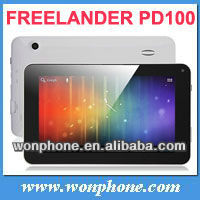 lowest GPS navigation tablet ,7 Inch FreeLander PD100 512MB/8G Capacitive Camera car kits 4.0 android tablet PC