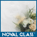 Mayflower patterned glass, rolled glass
