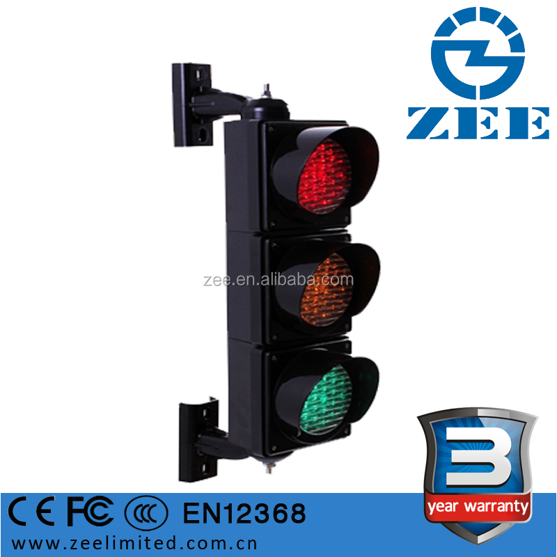 100mm 4 inches LED Traffic Signal Mini Traffic Light Red Yellow Green