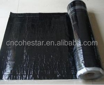 High Bonding Cross Laminated Film Self-adhesive Rubber Roofing Felt in Rolls