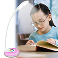 Smart Light Adjustable Rechargeable Bedside Lamp Led Desk Lamp With Touch Dimmer And Usb