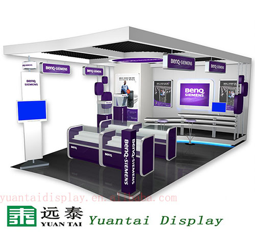 electronic product display showcase for shopping mall display kiosk
