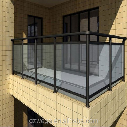Balcony Glass Railing (reliable supplier)