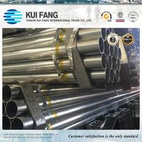 Hot selling hot sale greenhouse 34mm hot dipped galvanized steel pipe with high quality