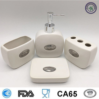 China manufacture ecofriendly green cheap bath bathroom set accessories