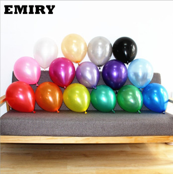 2019 New Pearl Metallic Round Assorted Color 12 inch Balloons Latex Candy Color 12 Inch Latex Balloons