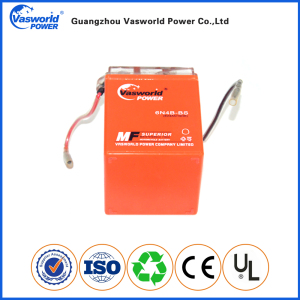 Gel Motorcycle Battery 6N4B-BS 6v4ah electical battery pack