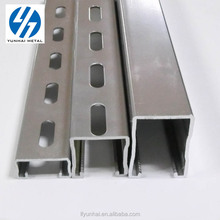 perforated c channel specification