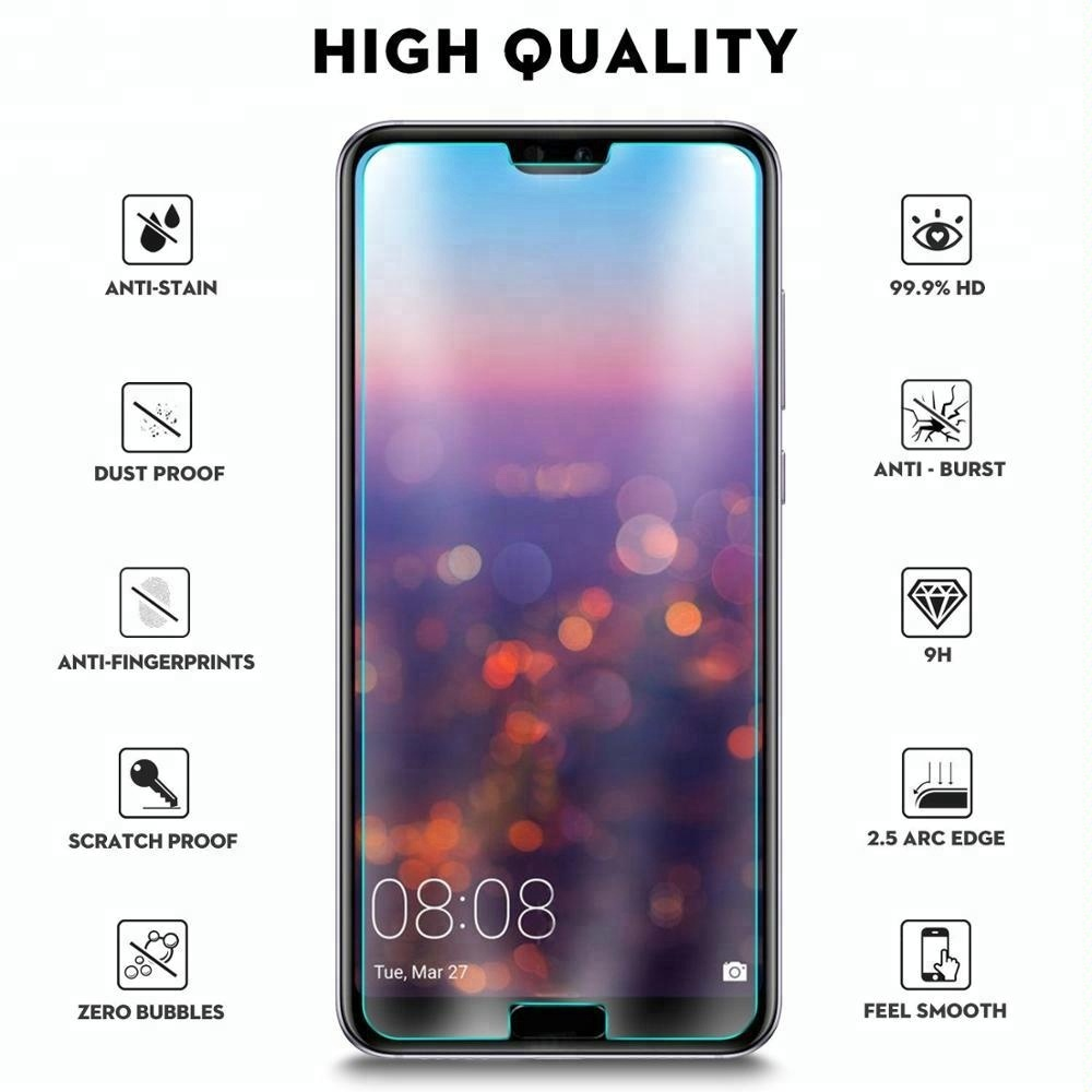 for Huawei P20 Pro Screen Protector 2018 9H 2.5D Clear Tempered Glass for huawei p20 pro glass screen protectors