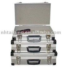 Silver Aluminum dji phantom 2 vision case in 3 sets